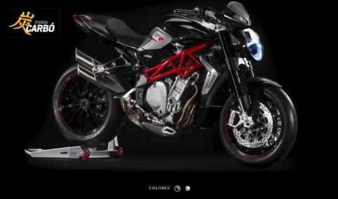 Brutale RR 4 Motos Carbó3