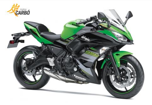Ninja 650 motos carbó1