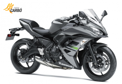 Ninja 650 motos carbó4