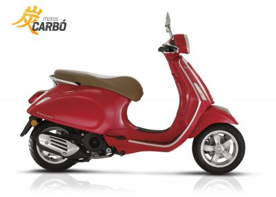 Vespa Primavera Rojo Dragon Motos Carbó