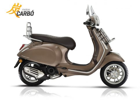 Vespa Primavera Touring Marron Motos Carbó